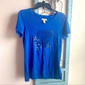 Lucky Brand Skull Graphic T-shirt